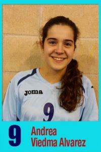 Cadete A 9 Andrea Viedma Alvarez