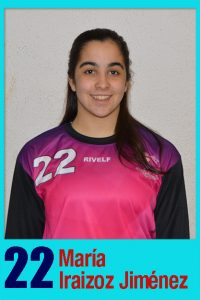 Juvenil 20 María Iraizoz Jiménez