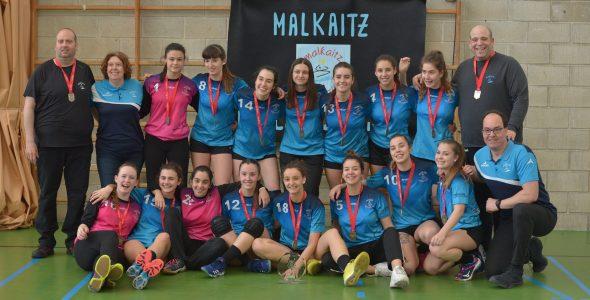 Las Juveniles campeonas de liga se clasifican para el sector