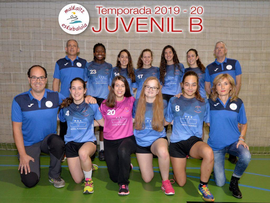 Equipo Juvenil B 19-20