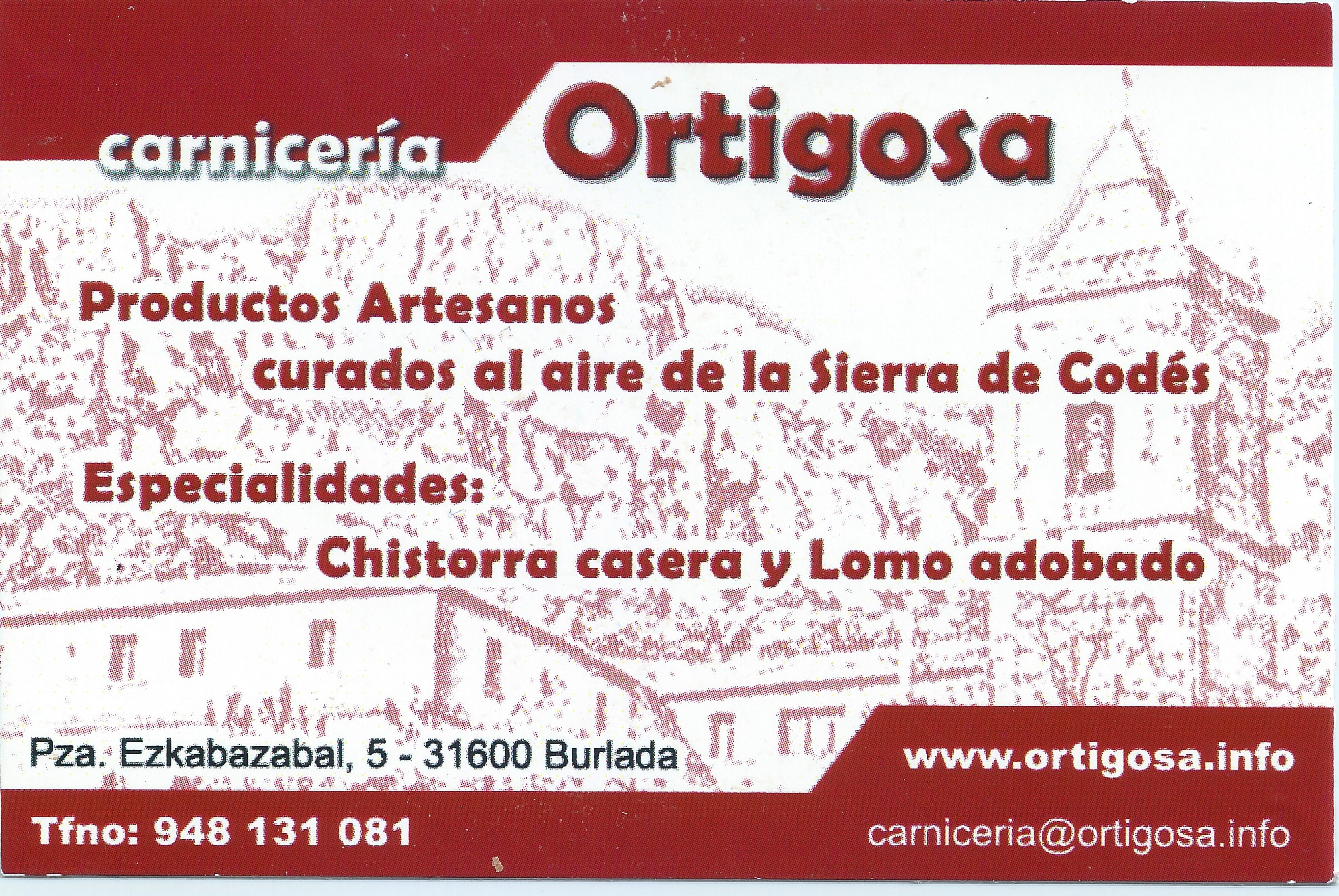 Carniceria Ortigosa
