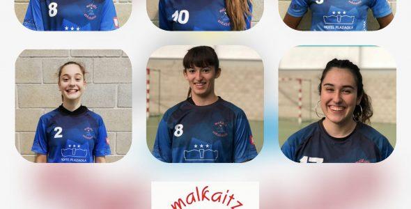 Seis Jugadoras del Malkaitz al CESA 2020