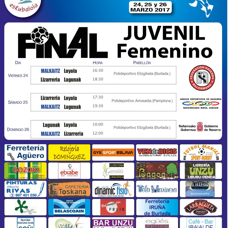 Final4 Juvenil Femenino