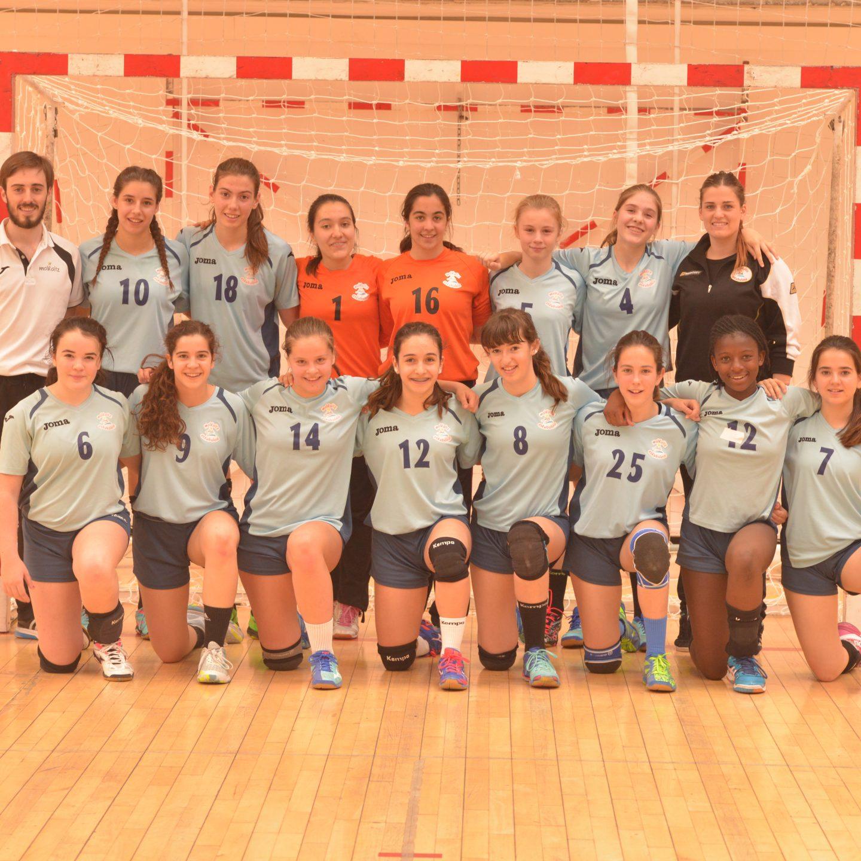 Malkaitz CadeteB campeonas Copa Navarra