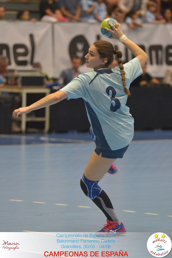 Nerea Gil convocada para la selección española juvenil
