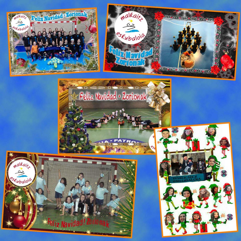 Concurso postal navideña 2017