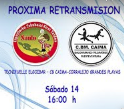Partido en Streaming. Sanlo – Caima