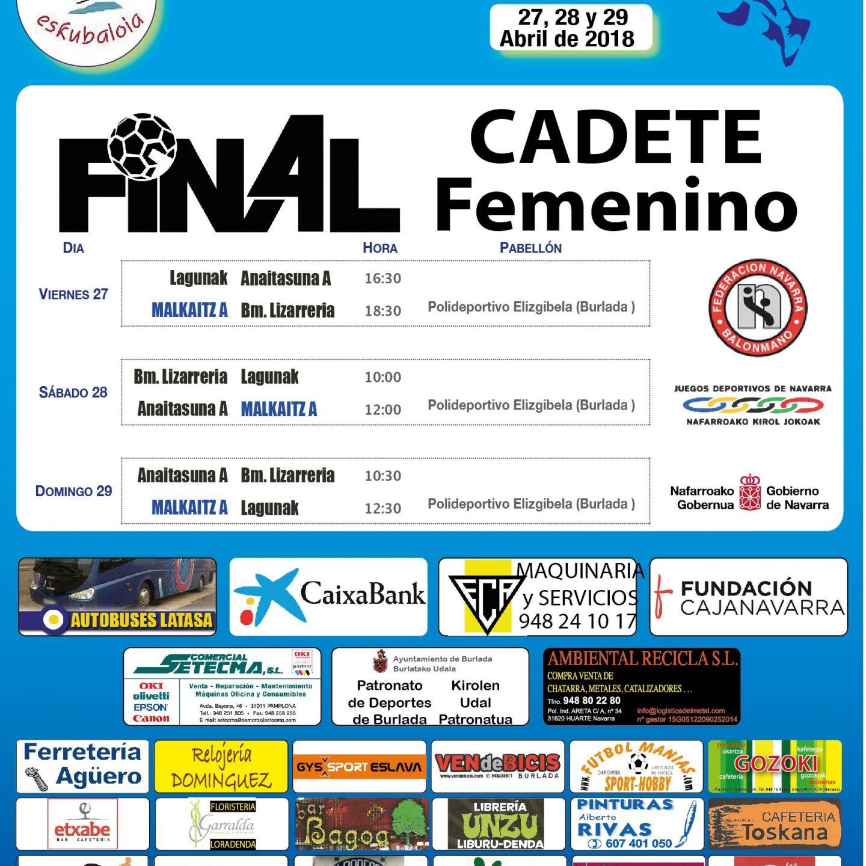 Final4 Cadete